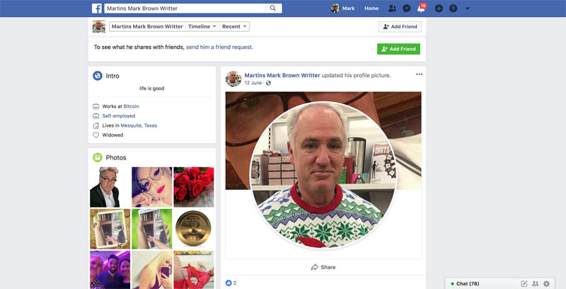 Don't Bother Reporting a Fake Account on Facebook - Mark Brown - Writer